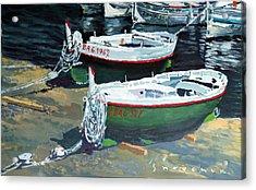 Spain Series 11 Cadaques Port Lligat Acrylic Print by Yuriy Shevchuk