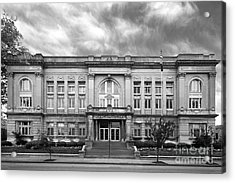 Spalding University Center Acrylic Print by University Icons