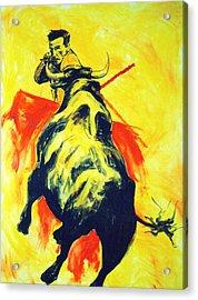 Spanish Bullfight Acrylic Print