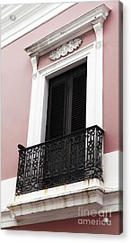 Spanish Colonialism Architecture Acrylic Print by John Rizzuto