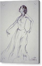 Spanish Dancing Acrylic Print