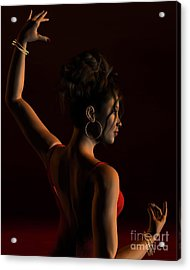 Spanish Flamenco Dancer - 1 Acrylic Print
