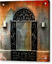 Spanish Influence Acrylic Print by Barbara Chichester