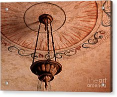 Acrylic Print featuring the photograph Spanish Lamp by Lawrence Burry