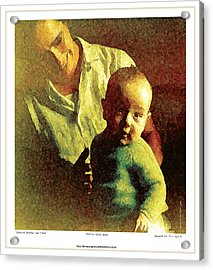 Spanish Mother And Child Acrylic Print