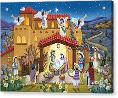 Spanish Nativity Acrylic Print