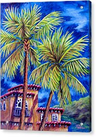 Spanish Palms Acrylic Print