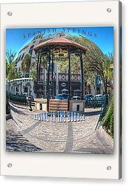 Spanish Springs Living In The Bubble Acrylic Print by Wynn Davis-Shanks