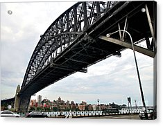 Spanning Sydney Harbour Acrylic Print by Kaye Menner