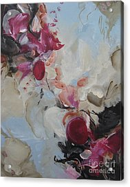 Acrylic Print featuring the painting Spark 20 by Elis Cooke