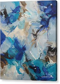 Acrylic Print featuring the painting Spark 21 by Elis Cooke