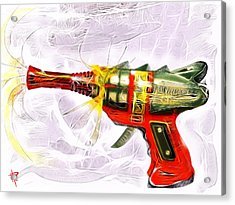 Spark Maker Acrylic Print by Russell Pierce