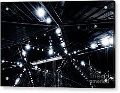 Spark Acrylic Print by Noir Blanc