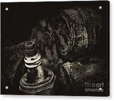 Spark Plug Acrylic Print by Wilma  Birdwell