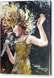 Sparkle Acrylic Print by Alana Meyers