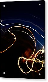 Acrylic Print featuring the photograph Sparkler by Joel Loftus