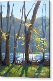 Sparkling Light On The Lake Acrylic Print