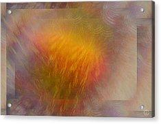 Sparkling Mood Acrylic Print by Gun Legler