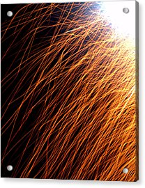 Sparks Acrylic Print by JS Rose Photography