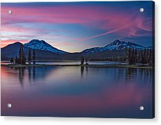 Sparks Lake Reflections Acrylic Print