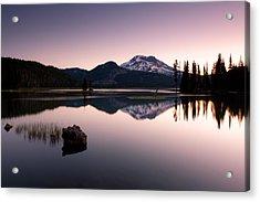 Sparks Lake Sunrise Acrylic Print