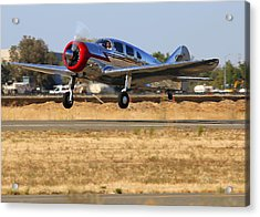 Acrylic Print featuring the photograph Spartan 7w Executive Taking Off Nc17665 by John King
