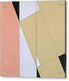 Spatial Relationship Acrylic Print by George Dannatt
