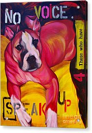 Speak Up Acrylic Print