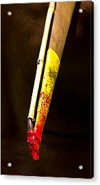 Spear Thrower Woomera Acrylic Print by Debbie Cundy