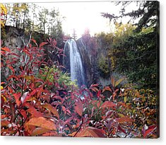 Acrylic Print featuring the photograph Spearfish Falls by Fiskr Larsen