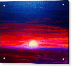Special Sunset 2008 Acrylic Print