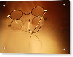 Spectacles At Rest Acrylic Print