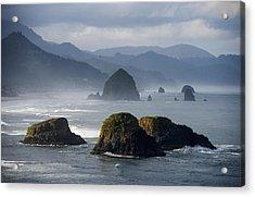 Spectacular Coastal Scenery Is Found Acrylic Print by Robert L. Potts
