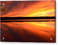 Spectacular Orange Mirror Acrylic Print