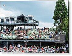 Spectators Of The Atp Trophy In Stuttgart - Germany Acrylic Print by Frank Gaertner
