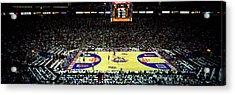 Spectators Watching A Basketball Game Acrylic Print