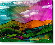 Spectrum Of Hope Acrylic Print