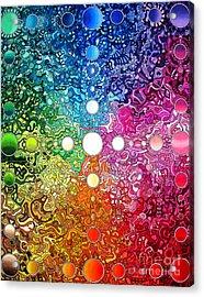 Spectrum Original Acrylic Print by Devin  Cogger