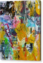Acrylic Print featuring the painting Speechless by Katie Black