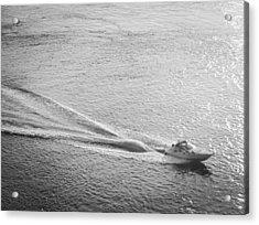 Speed Acrylic Print by John Rossman