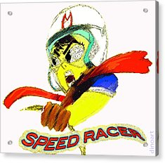 Speed Racer  Acrylic Print by Jazzboy