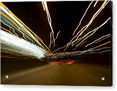 Speed Acrylic Print by Sebastian Musial