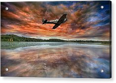 Speed Testing Acrylic Print by Jason Green