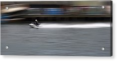 Speed Acrylic Print