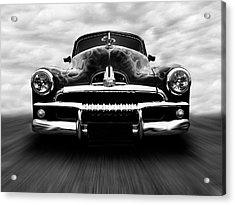 Speeding Fj Holden Acrylic Print