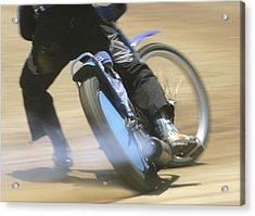 Speedway Slide Acrylic Print