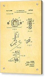 Speers G I Joe Action Man 2 Patent Art 1966 Acrylic Print by Ian Monk