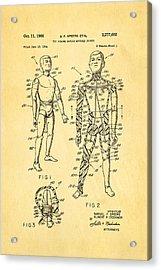 Speers G I Joe Action Man Patent Art 1966 Acrylic Print by Ian Monk