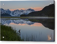 Spencer Galcier Sunrise Acrylic Print by Tim Grams
