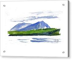 Spencer Mountain Acrylic Print